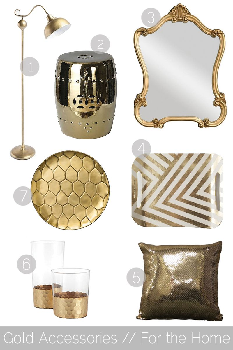 Gold-Accessories