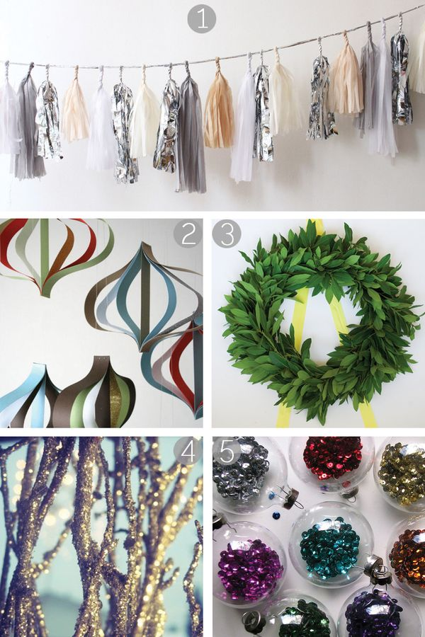 DIY // Fun & Easy Christmas Decoration Ideas