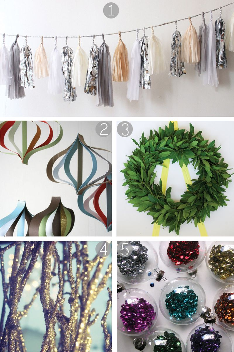 Diy fun easy christmas decoration ideas k sarah designs for Christmas decorations ideas to make at home