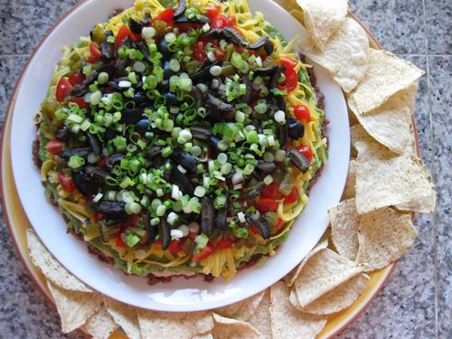 Tasty Eats // Best Seven Layer Taco Dip Ever - K Sarah Designs