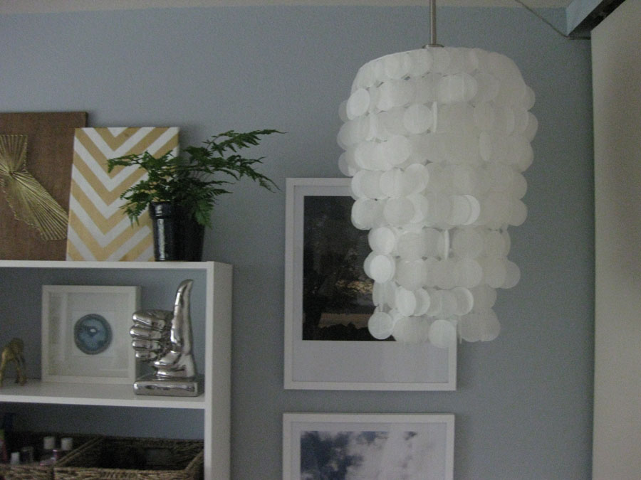 Diy Faux Capiz Shell Chandelier Img 3880
