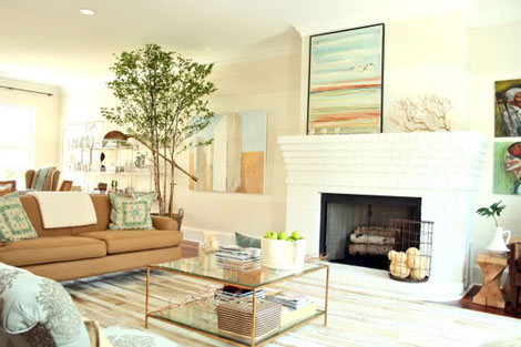 Interiors I Love Painted Brick Fireplaces K Sarah Designs