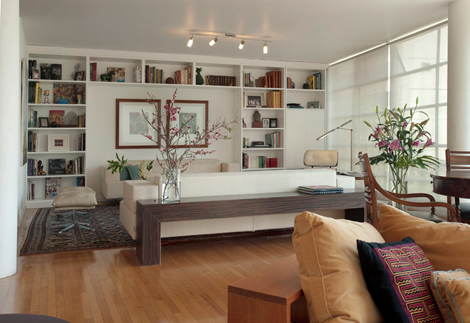 Console Tables Behind Sofas