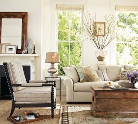 Interiors i love Spool Chairs K Sarah Designs