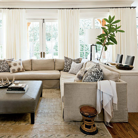 Interiors I Love Neutral Spaces With Black Accents K