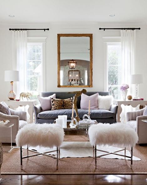 Interiors I Love Cowhide Rugs K Sarah Designs