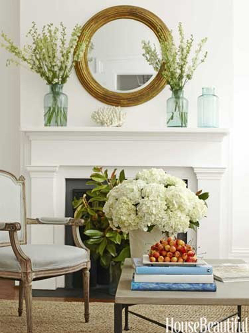 Interiors I Love Round Mirrors Over Mantels K Sarah