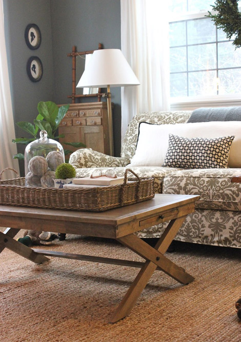 Basket Coffee Table Designs