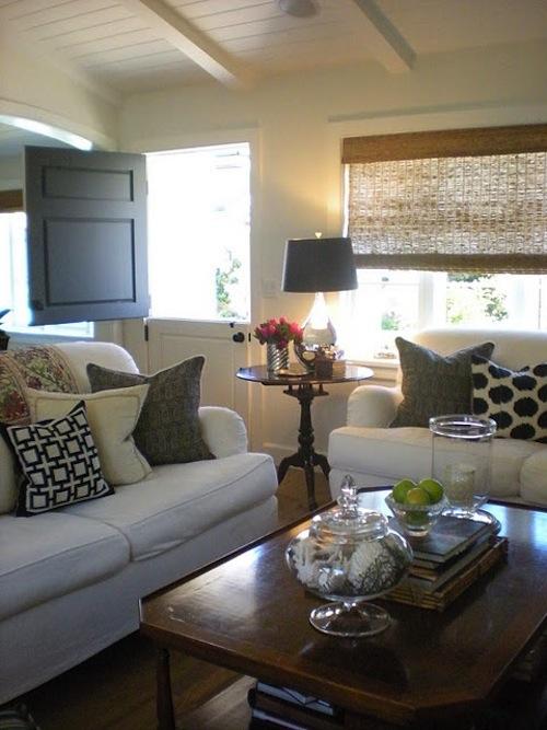 Casual Home interiors i love // dutch doors - k sarah designs