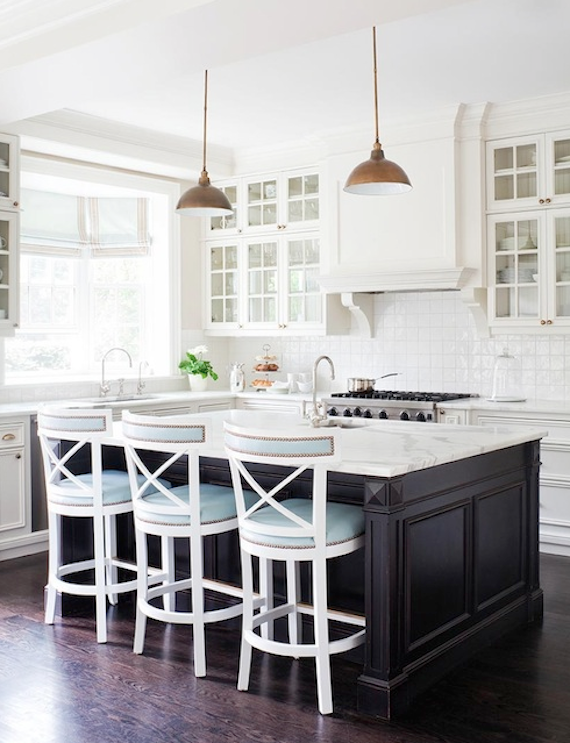 White Kitchen Stainless Appliances interiors i love // mixed metals in the kitchen - k sarah designs