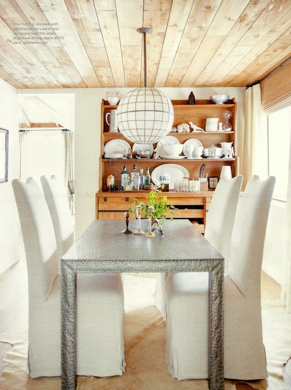 Lauren S Capiz Shell Light Is Vintage And I Love What It Adds To This Dining E Design By Liess Image Via My Notting Hill