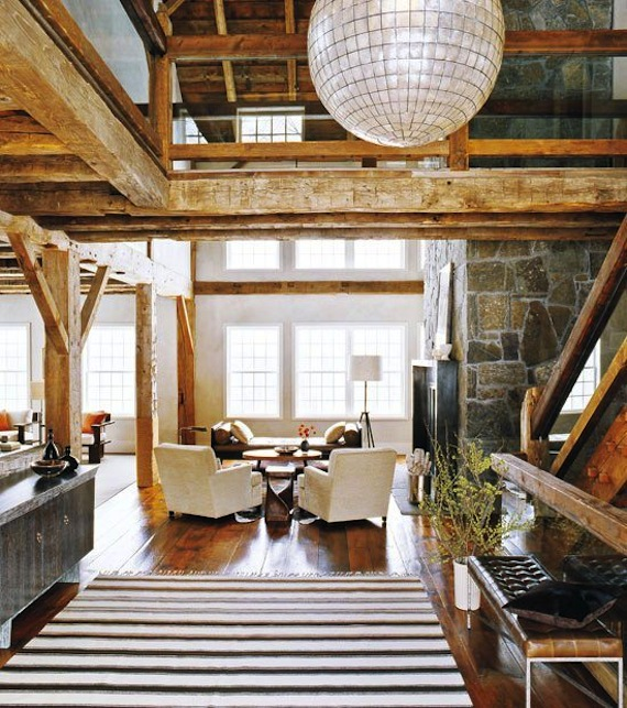 Rustic-modern-barn-capiz-shell-light