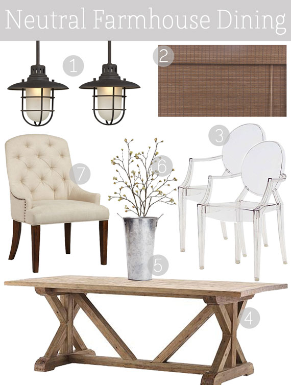 Modern Farmhouse2 Neutral Farmhouse Dining1