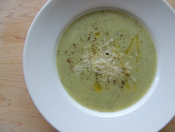 Cream of Zucchini Soup6