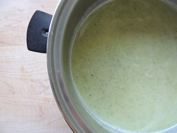 Cream of Zucchini Soup2