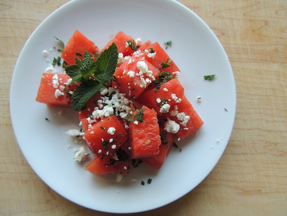 Watermelon Mint Feta Salad2