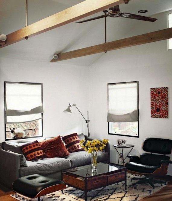 Rustic Industral Bathchlor Interior Design: Mood Board // Nick's Modern Rustic Bachelor Pad