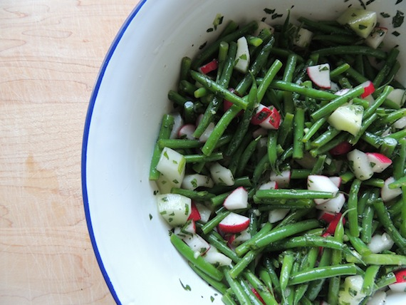 Green Bean and Radish Salad3