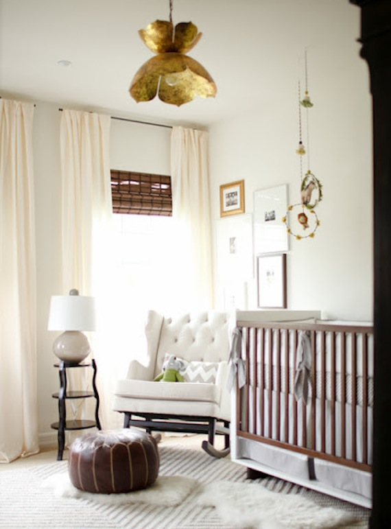 Neutral Nursery - Nicole Davis Design