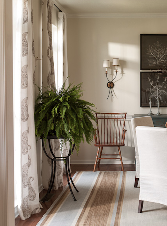 Interiors i love // Block Printed Textiles - K Sarah Designs