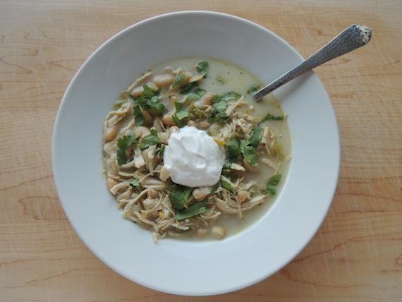 White Chicken & Chili Soup2